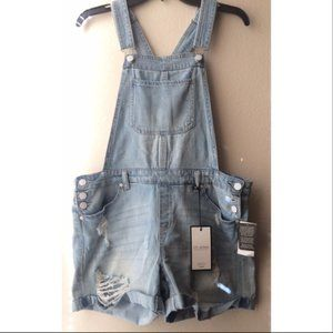 CP for Dillard's Jean's Denim Shorts Overall